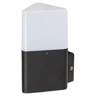 RABALUX 7988 | Zadar Rabalux zidna svjetiljka 1x E27 IP44 UV crno, bijelo