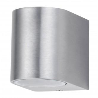 RABALUX 8020 | Chile Rabalux zidna svjetiljka 1x GU10 IP44 inox