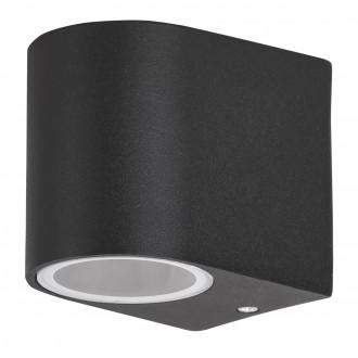 RABALUX 8029 | Chile Rabalux zidna svjetiljka 1x GU10 IP44 crno