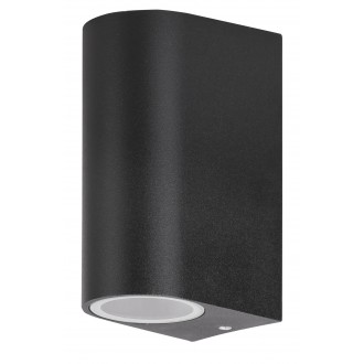 RABALUX 8030 | Chile Rabalux zidna svjetiljka 2x GU10 IP44 crno