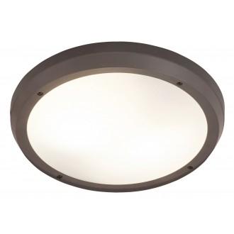 RABALUX 8049 | Alvorada Rabalux zidna, stropne svjetiljke svjetiljka 2x E27 IP65 UV antracit, bijelo