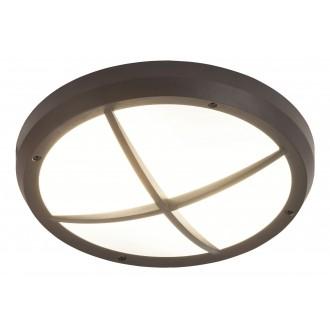 RABALUX 8050 | Alvorada Rabalux zidna, stropne svjetiljke svjetiljka 2x E27 IP65 UV antracit, bijelo