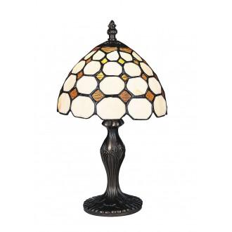 RABALUX 8072 | Marvel Rabalux stolna svjetiljka 36,5cm sa prekidačem na kablu 1x E14 bronca, višebojno