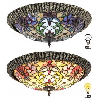 RABALUX 8087 | Mirella Rabalux stropne svjetiljke svjetiljka 2x E27 bronca, višebojno