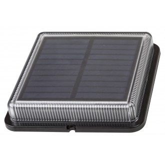 RABALUX 8104 | Bilbao_RA Rabalux dekoracija solarna baterija svjetiljka svjetlosni senzor - sumračni prekidač baterijska/akumulatorska 1x LED 4000K IP67 crno, prozirno