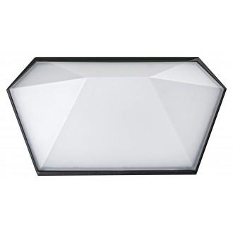 RABALUX 8114 | Salvador_RA Rabalux zidna svjetiljka 1x LED 543lm 4000K IP65 UV crno, bijelo