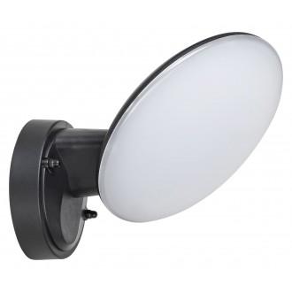 RABALUX 8134 | Varna Rabalux zidna svjetiljka 1x LED 720lm 4000K IP54 UV crno, bijelo