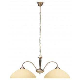RABALUX 8177 | Regina Rabalux visilice svjetiljka 2x E27 bronca, krem