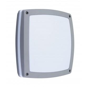RABALUX 8188 | Saba Rabalux zidna, stropne svjetiljke svjetiljka 2x E27 IP54 UV srebrno, bijelo
