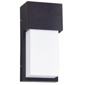 RABALUX 8197 | Leeds Rabalux zidna svjetiljka 1x E27 IP44 UV bijelo, crno