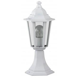 RABALUX 8205 | Velence1 Rabalux podna svjetiljka 40cm 1x E27 IP43 bijelo, prozirno