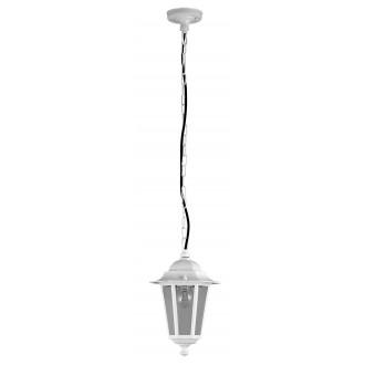 RABALUX 8207 | Velence1 Rabalux visilice svjetiljka 1x E27 IP43 bijelo, prozirno