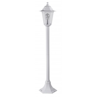 RABALUX 8209 | Velence1 Rabalux podna svjetiljka 105cm 1x E27 IP43 bijelo, prozirno