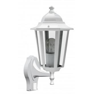 RABALUX 8216   Velence1 Rabalux zidna svjetiljka sa senzorom 1x E27 IP43 bijelo, prozirno