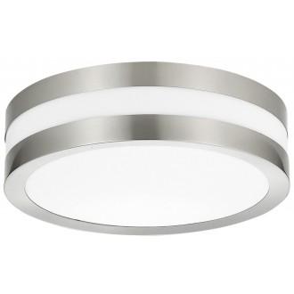 RABALUX 8220 | Stuttgart Rabalux stropne svjetiljke svjetiljka 2x E27 IP44 UV plemeniti čelik, čelik sivo, bijelo