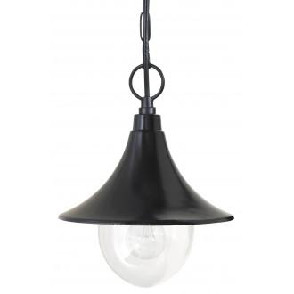 RABALUX 8246 | Konstanz Rabalux visilice svjetiljka 1x E27 IP44 UV crno, prozirno