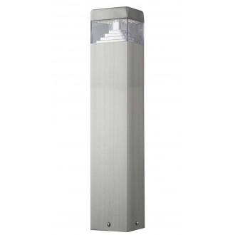 RABALUX 8250 | Genf Rabalux podna svjetiljka 50cm 1x LED 450lm 4000K IP54 plemeniti čelik, čelik sivo