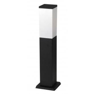 RABALUX 8338 | Bonn Rabalux podna svjetiljka 50cm 1x E27 IP44 UV crno mat, bijelo