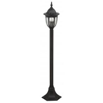 RABALUX 8345 | Milano1 Rabalux podna svjetiljka 102cm 1x E27 IP43 crno, prozirno
