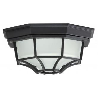 RABALUX 8346 | Milano1 Rabalux stropne svjetiljke svjetiljka 1x E27 IP43 crno, opal