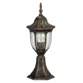 RABALUX 8373 | Milano Rabalux podna svjetiljka 43cm 1x E27 IP43 antik zlato, prozirno