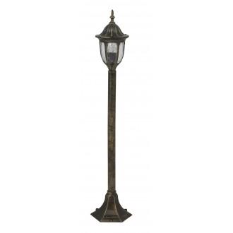 RABALUX 8375 | Milano Rabalux podna svjetiljka 102cm 1x E27 IP43 antik zlato, prozirno