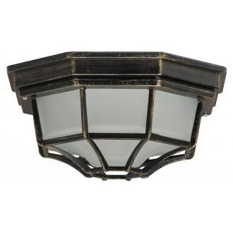 RABALUX 8376 | Milano Rabalux stropne svjetiljke svjetiljka 1x E27 IP43 antik zlato, opal