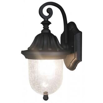 RABALUX 8387   Sydney Rabalux zidna svjetiljka 1x E27 IP23 crno, prozirna