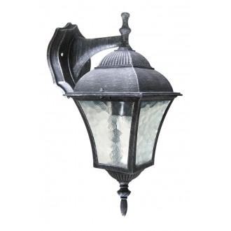 RABALUX 8396 | Toscana Rabalux zidna svjetiljka 1x E27 IP43 antik srebrna, prozirna