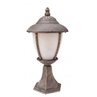 RABALUX 8478 | Madrid Rabalux podna svjetiljka 41cm 1x E27 IP43 antik zlato, bijelo alabaster