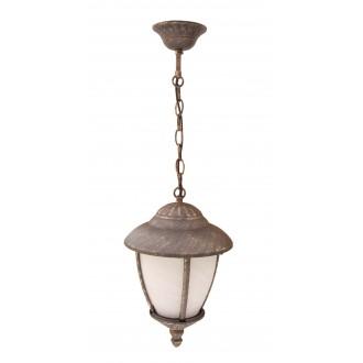 RABALUX 8479 | Madrid Rabalux visilice svjetiljka 1x E27 IP43 antik zlato, bijelo alabaster