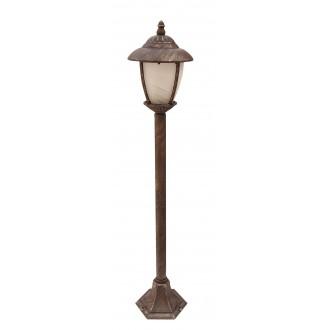 RABALUX 8480 | Madrid Rabalux podna svjetiljka 105cm 1x E27 IP43 antik zlato, bijelo alabaster