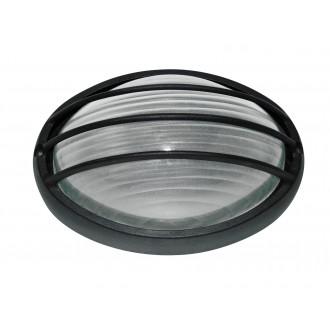 RABALUX 8498 | Hektor Rabalux zidna, stropne svjetiljke svjetiljka 1x E27 IP54 crno, bijelo