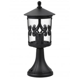 RABALUX 8537 | PalmaR Rabalux podna svjetiljka 36,6cm 1x E27 IP23 crno, prozirno