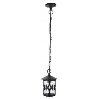 RABALUX 8538 | PalmaR Rabalux visilice svjetiljka 1x E27 IP23 crno, prozirno