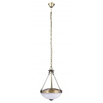 RABALUX 8547 | Marlene Rabalux visilice svjetiljka 2x E27 bronca, bijelo alabaster