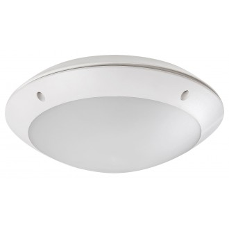 RABALUX 8554 | Lentil-LED Rabalux zidna, stropne svjetiljke svjetiljka 1x LED 720lm 4000K IP54 bijelo