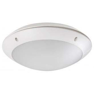 RABALUX 8555 | Lentil-LED Rabalux zidna, stropne svjetiljke svjetiljka sa senzorom 1x LED 720lm 4000K IP54 bijelo