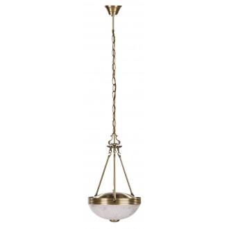 RABALUX 8637 | Annabella Rabalux visilice svjetiljka 2x E27 bronca, prozirno
