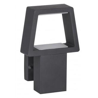 RABALUX 8667 | ArizonaR Rabalux zidna svjetiljka 1x LED 900lm 3000K IP44 antracit