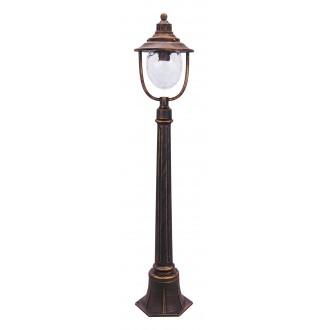 RABALUX 8679   Barcelona Rabalux podna svjetiljka 108cm 1x E27 IP43 antik zlato, prozirno