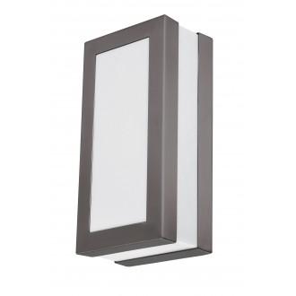 RABALUX 8683 | Stuttgart Rabalux zidna, stropne svjetiljke svjetiljka 1x E27 IP44 UV antracit, bijelo