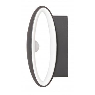 RABALUX 8705 | Bristol Rabalux zidna svjetiljka 1x LED 810lm 4000K IP54 UV antracit, bijelo