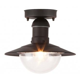 RABALUX 8716 | OsloR Rabalux stropne svjetiljke svjetiljka 1x E27 IP44 UV crno, prozirno