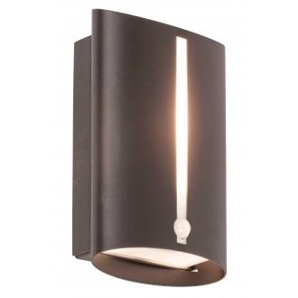 RABALUX 8731 | Baltimore Rabalux zidna svjetiljka sa senzorom 1x E27 IP44 crno mat