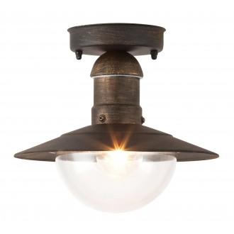 RABALUX 8736 | OsloR Rabalux stropne svjetiljke svjetiljka 1x E27 IP44 UV antik zlato, prozirno
