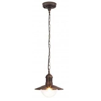 RABALUX 8737 | OsloR Rabalux visilice svjetiljka 1x E27 IP44 UV antik zlato, prozirno