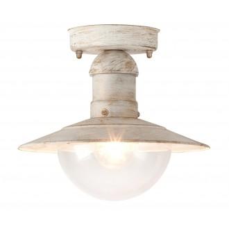 RABALUX 8739 | OsloR Rabalux stropne svjetiljke svjetiljka 1x E27 IP44 UV antik bijela, prozirno