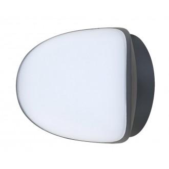 RABALUX 8768 | Erfurt Rabalux zidna svjetiljka 1x LED 1100lm 4000K IP54 UV antracit, bijelo