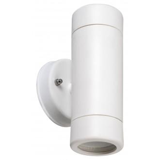RABALUX 8837 | Medina-RA Rabalux zidna svjetiljka 2x GU10 IP44 UV bijelo mat